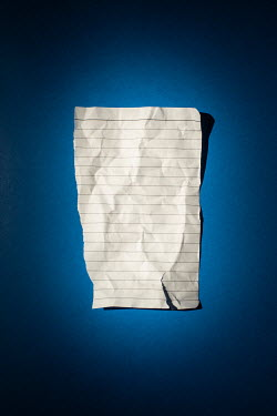 Ysbrand Cosijn CREASED BLANK PIECE OF PAPER Miscellaneous Objects