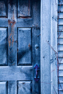 Jean Ladzinski WOODEN DOOR AND METAL HANDLE Building Detail