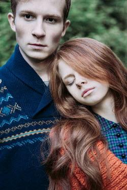 Magdalena Russocka close up of youn couple outside