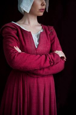 Lee Avison CLOSE UP OF HISTORICAL SERVANT Women