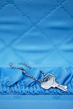 Alison Archinuk KEY IN BLUE CASE WITH SILK LINING Miscellaneous Objects