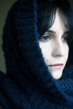 Esmahan Ozkan WOMAN IN BLUE SHAWL Women