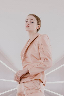 Greta Larosa MODERN WOMAN IN PINK SUIT Women