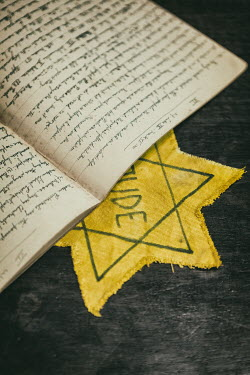 Magdalena Russocka notebook lying on star of david Miscellaneous Objects
