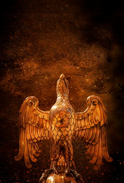 Stephen Mulcahey gold phoenix eagle statue Miscellaneous Objects