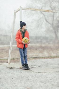Krasimira Petrova Shishkova young boy with football