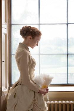 Lee Avison pensive victorian woman at the window Women