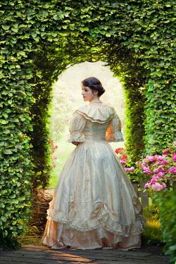Lee Avison young victorian woman in the garden Women