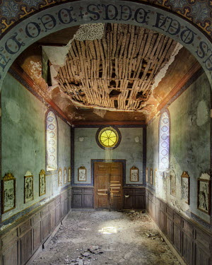 Christophe Dessaigne INTERIOR OF DERELICT HALL Interiors/Rooms