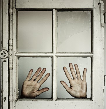 Manuela Deigert HANDS PRESSED AGAINST WINDOW Body Detail