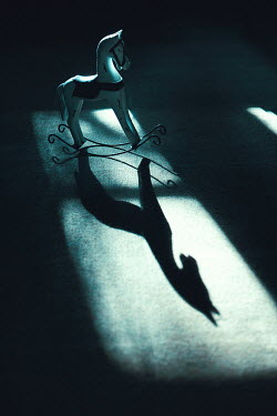 Magdalena Russocka toy rocking horse with shadow