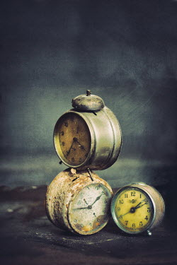 Svetoslava Madarova CLOSE UP OF OLD RUSTY CLOCKS Miscellaneous Objects