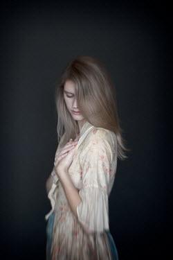 Erika Masterson SERIOUS DAYDREAMING WOMAN IN DRESS Women