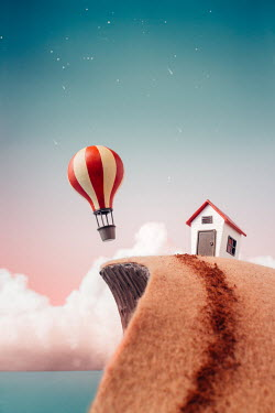 Hardi Saputra TOY HOUSE AND HOT AIR BALLOON Miscellaneous Objects