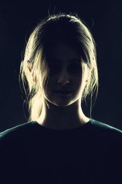 Magdalena Russocka teenage girl in shadow inside