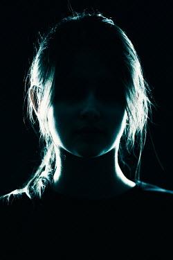 Magdalena Russocka teenage girl in shadow