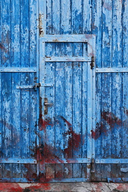 Valentino Sani WEATHERED DOOR IN WOODEN BUILDING Building Detail