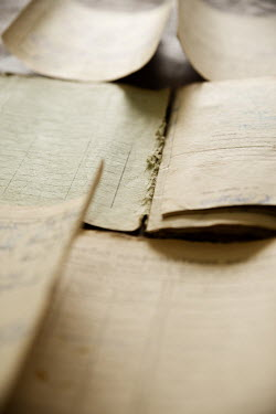 Maria Petkova CLOSE UP OF OLD LEDGERS Miscellaneous Objects