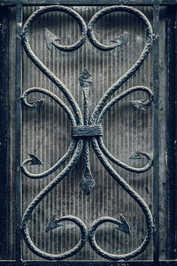 Magdalena Russocka old window with iron ornament