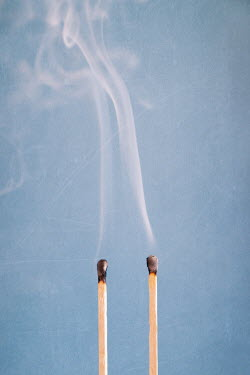 Peter Chadwick TWO BURNT MATCHES WITH SMOKE Miscellaneous Objects