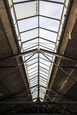 Richard Nixon GLASS ROOF OF DERELICT BUILDING Building Detail
