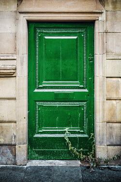 Richard Nixon STONE BUILDING WITH GREEN DOOR Building Detail
