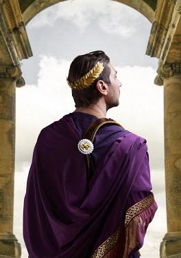 CollaborationJS ROMAN EMPEROR STANDING BETWEEN COLUMNS Men