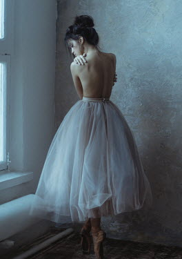 Irina Orwald BALLET DANCER IN WHITE TUTU Women