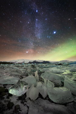 Ollie Taylor ICY LANDSCAPE WITH STARRY SKY Snow/ Ice