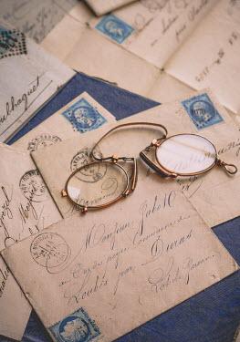Jane Morley Vintage glasses on envelopes Miscellaneous Objects