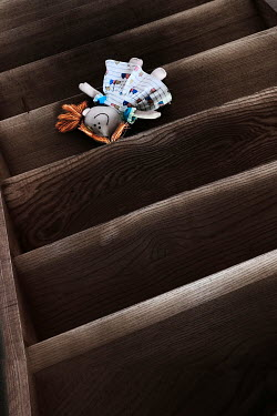 Maria Petkova RAG DOLL LING ON STAIRCASE Miscellaneous Objects