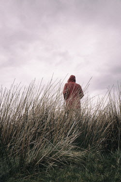 Tim Robinson HOODED PERSON IN LONG GRASS Body Detail