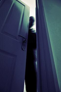 Tim Robinson BLURRED MAN OPENING DOOR Men