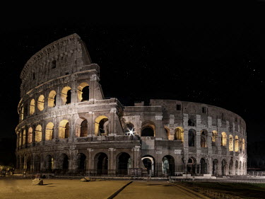 Jaroslaw Blaminsky COLISEUM IN ROME AT NIGHT Miscellaneous Cities/Towns