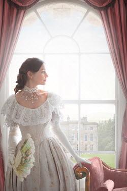 Lee Avison victorian lady at the window