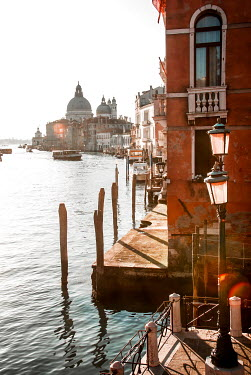 Michael Trevillion GRAND CANAL IN VENICE IN SUNLIGHT Miscellaneous Cities/Towns