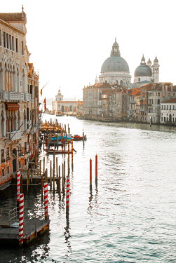 Michael Trevillion THE GRAND CANAL IN VENICE IN SUNLIGHT Miscellaneous Cities/Towns