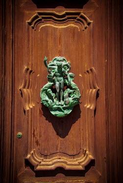 Michael Trevillion DOOR WITH FIGURE OF NEPTUNE Building Detail