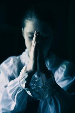 Magdalena Russocka historical woman praying