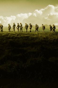 Stephen Mulcahey BRITISH BOER WAR SOLDIERS Men