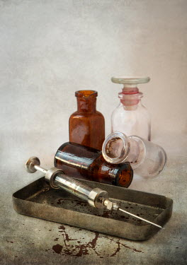 Jaroslaw Blaminsky ANTIQUE SYRINGE AND BOTTLES Miscellaneous Objects