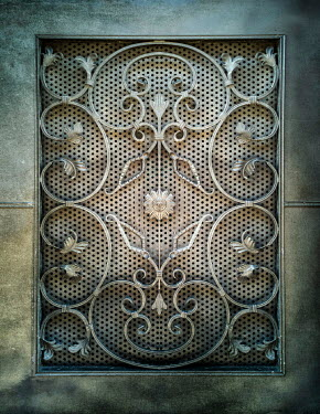 Jaroslaw Blaminsky Decorative metal gate Building Detail