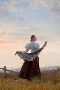 Lee Avison Victorian woman in countryside Women