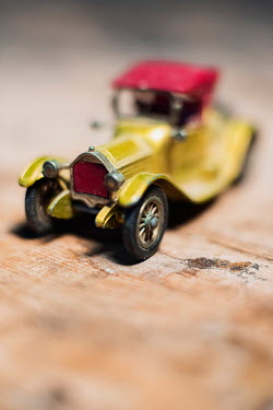 Ysbrand Cosijn Retro yellow toy car Miscellaneous Objects