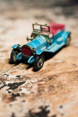 Ysbrand Cosijn Retro blue toy car Miscellaneous Objects