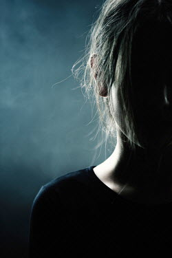 Magdalena Russocka close up of teenage girl in shadow Children