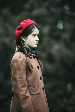 Magdalena Russocka sad retro teenage girl Children