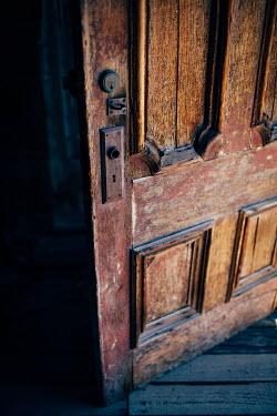 Susan O'Connor OLD WOODEN DOOR Building Detail