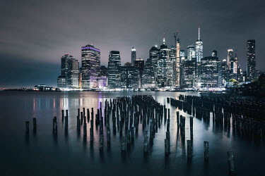 Evelina Kremsdorf NEW YORK CITY SKYLINE Miscellaneous Cities/Towns