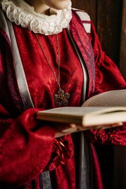 Shelley Richmond HISTORICAL WOMAN HOLDING BOOK Women